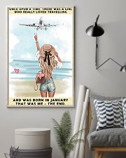 January Girl-Travelling 24x36 Poster lifestyle-poster-1