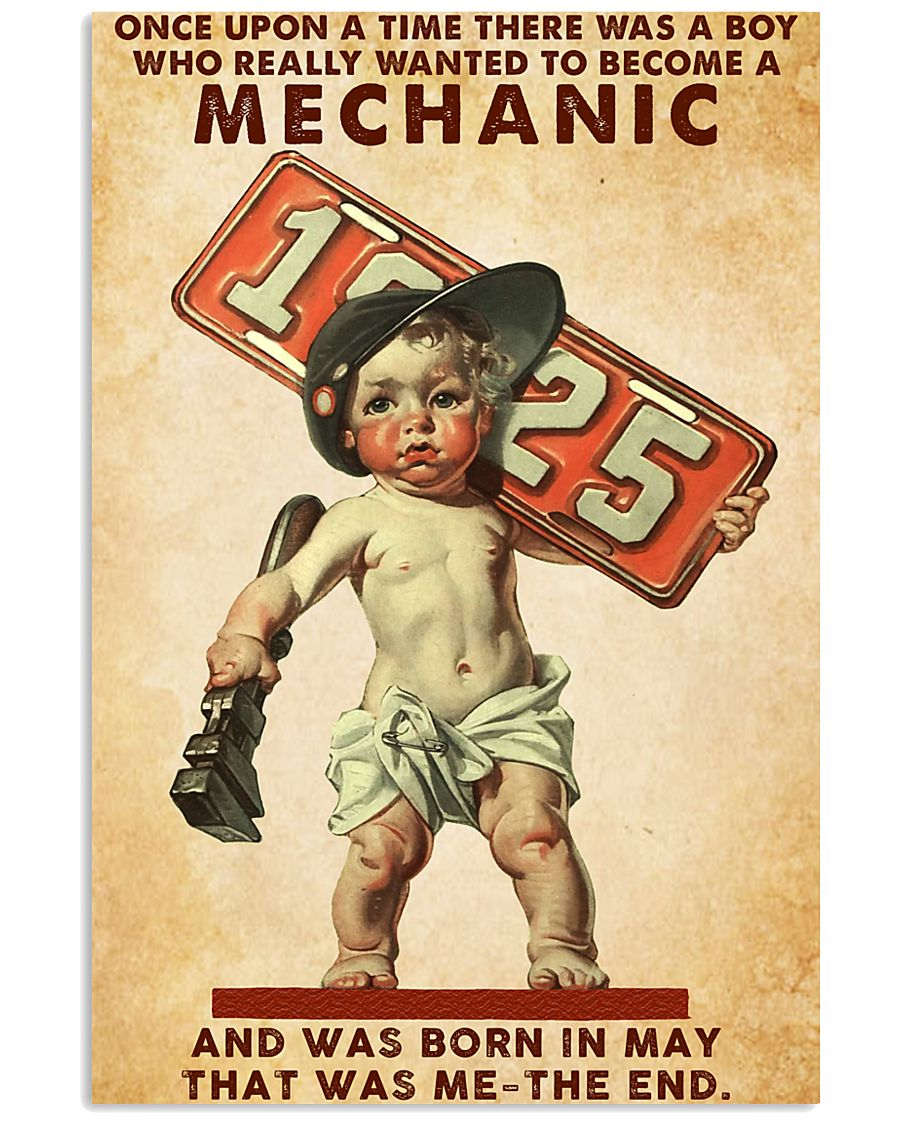 May Mechanic 24x36 Poster