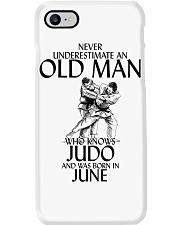 Never Underestimate Old Man Judo June Phone Case thumbnail