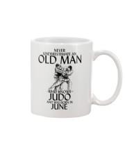 Never Underestimate Old Man Judo June Mug thumbnail