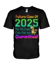 7th Grade V-Neck T-Shirt tile