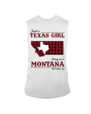 Just A Texas Girl In Montana World Sleeveless Tee tile