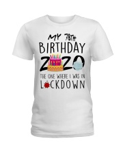 78th Birthday 78 Years Old Ladies T-Shirt tile