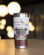 Trucker's Wife-To my wife from husband 20oz Tumbler aos-20oz-tumbler-lifestyle-front-04