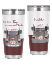 Trucker's Wife-To my wife from husband 20oz Tumbler front
