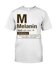 Melanin Definition Classic T-Shirt front
