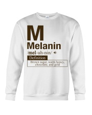 Melanin Definition Crewneck Sweatshirt thumbnail