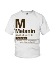 Melanin Definition Youth T-Shirt thumbnail