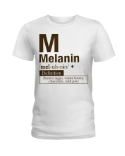Melanin Definition Ladies T-Shirt thumbnail