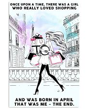 April Girl-Shopping 24x36 Poster front