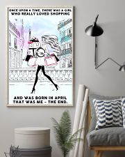 April Girl-Shopping 24x36 Poster lifestyle-poster-1