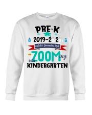 PRE-K ZOOMING INTO KINDERGARTEN Crewneck Sweatshirt thumbnail