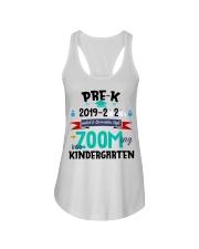 PRE-K ZOOMING INTO KINDERGARTEN Ladies Flowy Tank thumbnail