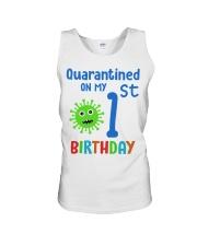 Quarantined On 1st My Birthday 1 years old Unisex Tank thumbnail