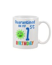 Quarantined On 1st My Birthday 1 years old Mug thumbnail