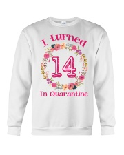 14th Birthday 14 Years Old Crewneck Sweatshirt thumbnail