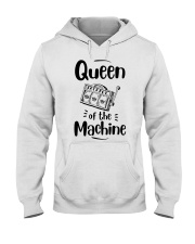 Queen Of Machine Hooded Sweatshirt thumbnail