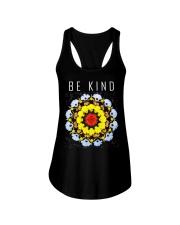 hippie be kind Ladies Flowy Tank thumbnail