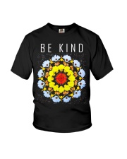 hippie be kind Youth T-Shirt thumbnail