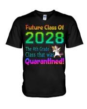 4th Grade V-Neck T-Shirt tile