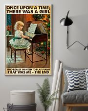 Once Upon A Time Piano Girl 24x36 Poster lifestyle-poster-1