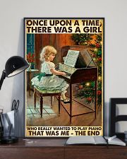 Once Upon A Time Piano Girl 24x36 Poster lifestyle-poster-2