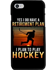 Yes I Do Have A Retirement Plan Hockey Phone Case tile