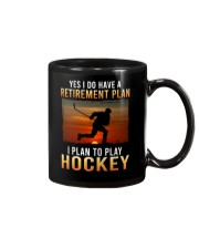 Yes I Do Have A Retirement Plan Hockey Mug tile