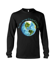 Positive Energy Can Heal Universe Long Sleeve Tee front