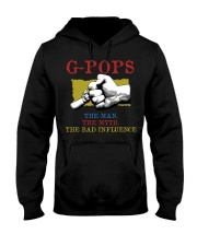 G-POPS The Man The Myth The Bad Influence Hooded Sweatshirt tile