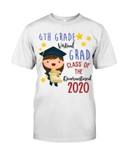 6th Grade Girl Classic T-Shirt front