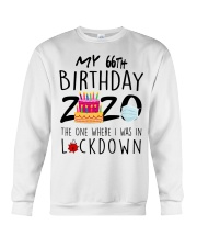66th Birthday 66 Years Old Crewneck Sweatshirt tile