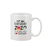 66th Birthday 66 Years Old Mug tile