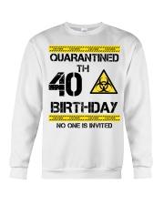 40th Birthday 40 Years Old Crewneck Sweatshirt thumbnail