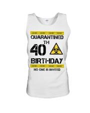 40th Birthday 40 Years Old Unisex Tank thumbnail