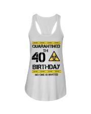 40th Birthday 40 Years Old Ladies Flowy Tank thumbnail