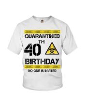 40th Birthday 40 Years Old Youth T-Shirt thumbnail