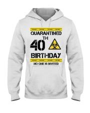 40th Birthday 40 Years Old Hooded Sweatshirt thumbnail