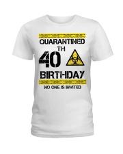 40th Birthday 40 Years Old Ladies T-Shirt thumbnail