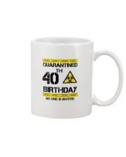 40th Birthday 40 Years Old Mug thumbnail