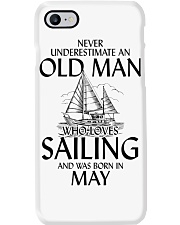 Never Underestimate Old Man Loves Sailing May Phone Case thumbnail