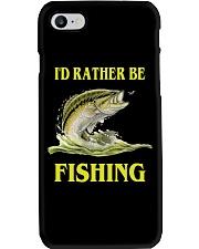 I 'd Rather Be Fishing Phone Case i-phone-8-case