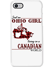 Just An Ohio Girl In Canadian World Phone Case thumbnail