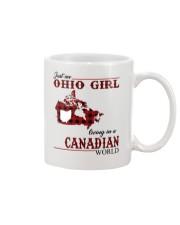 Just An Ohio Girl In Canadian World Mug thumbnail