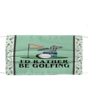 I'd Rather Be Golfing Mask tile