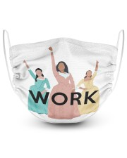 Work 2 Layer Face Mask - Single front