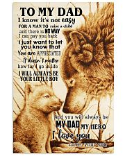 To My Dad From Son 24x36 Poster front