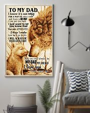 To My Dad From Son 24x36 Poster lifestyle-poster-1