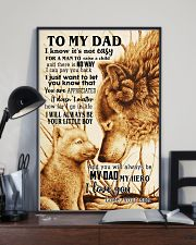 To My Dad From Son 24x36 Poster lifestyle-poster-2