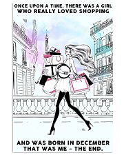 December Girl-Shopping 24x36 Poster front